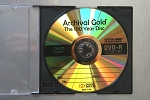 Archival GOLD 100 YEAR DVD-R Disc with Scratch Armor