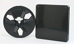 8mm Archival Autoloading Movie Film Reel & Can Set  400 ft. (Black)